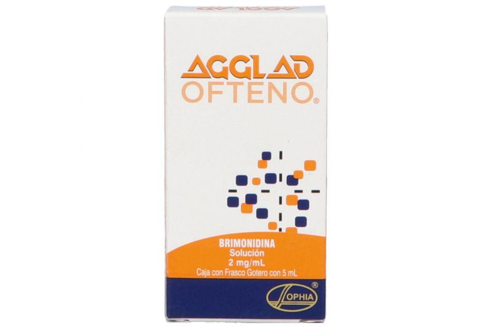 Agglad Ofteno 0.2% Caja Con Frasco Gotero Con 5 mL