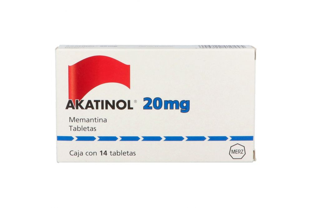 Akatinol 20 mg Caja Con 14 Tabletas