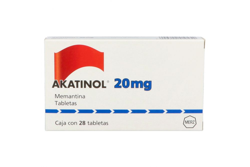 Akatinol 20 mg Caja Con 28 Tabletas