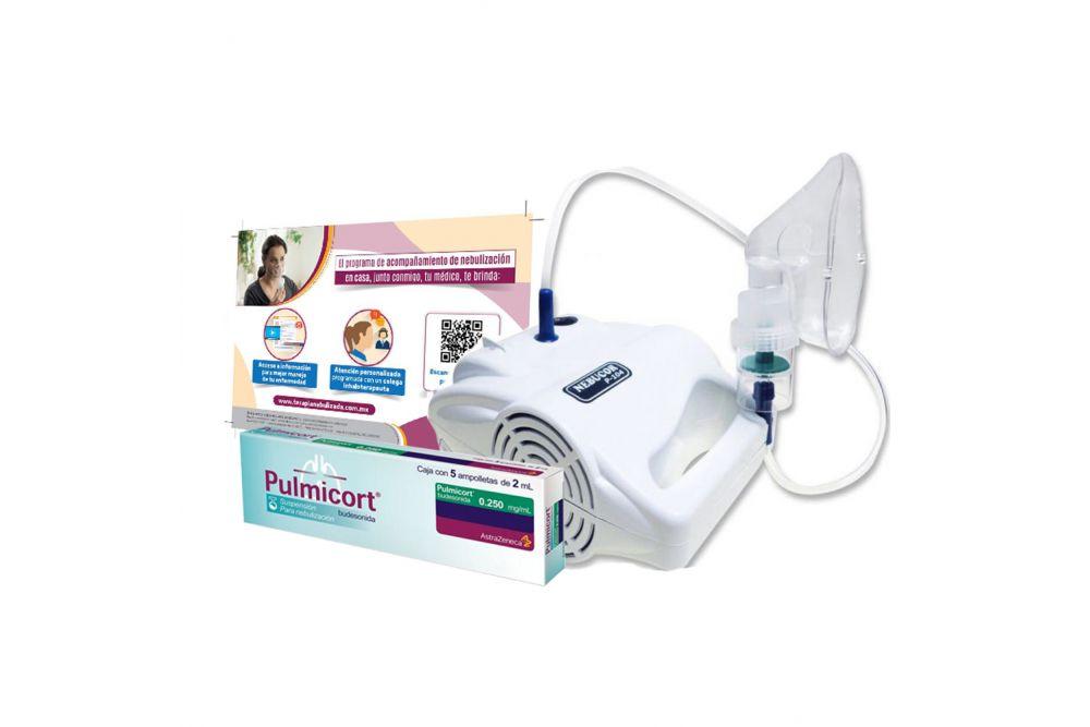 Kit Adultos Nebulizador Nebucor + Pulmicort 250 mg