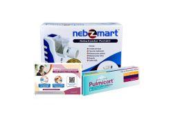 Kit Adultos Nebulizador Nebzmart+ Pulmicort 125 mg