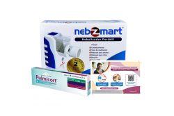 Kit Adultos Nebulizador Nebzmart+ Pulmicort 250 mg