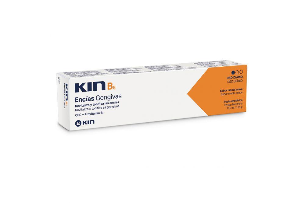 Kin B5 Pasta Dentifrica Caja Con Tubo Con 125 mL