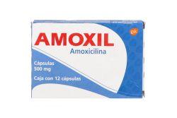 Amoxil 500 mg Caja Con 12 Cápsulas RX2