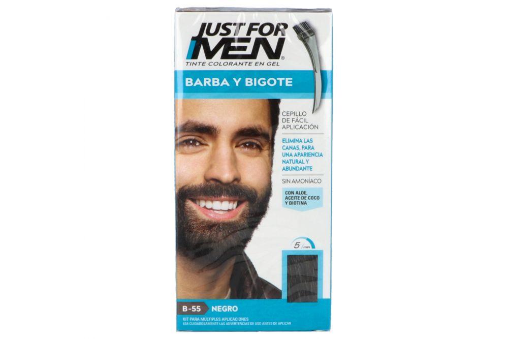 Tinte Just For Men Barba y Bigote Negro