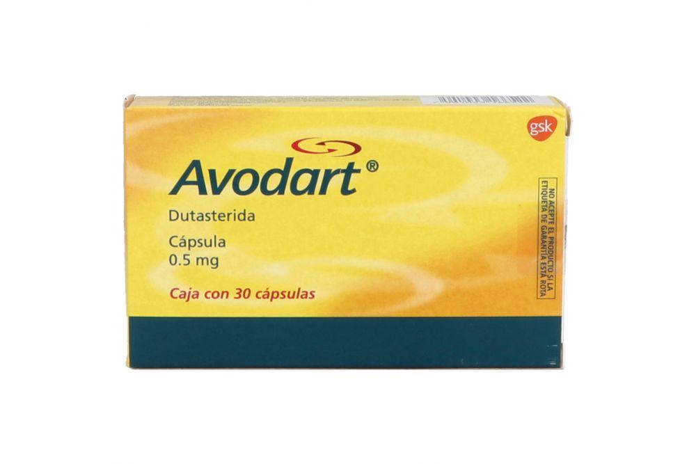 Avodart 0.5 mg Caja Con 30 Cápsulas
