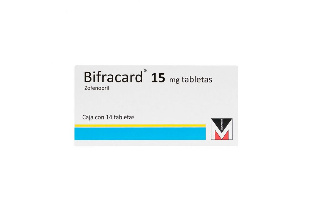 Bifracard 15 mg Caja Con 14 Tabletas