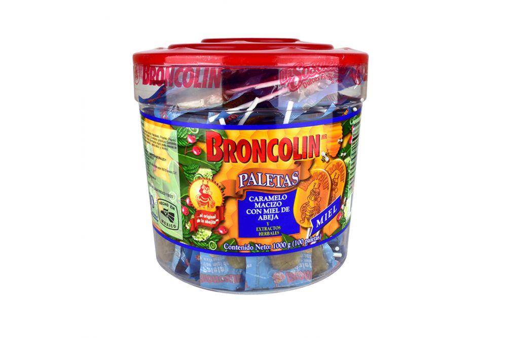 Broncolin 1000 g Bote Con 100 Paletas
