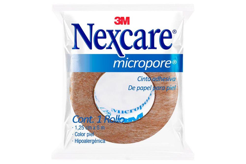 Cinta Micropore Bolsa Con 1 Rollo Piel 1.25cmx5m