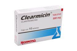 Clearmicin 500 mg Caja Con 10 Tabletas - RX2