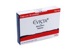 Evista 60 mg Caja Con 28 Tabletas
