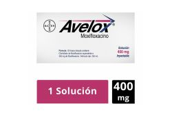 Avelox 400 mg Caja Con Frasco Ámpula - Rx2