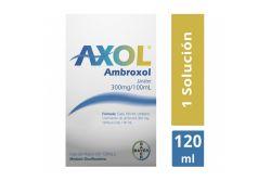 Axol Jarabe 300mg/100 mL Caja Con Frasco Con 120 mL