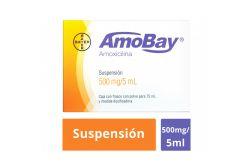 Amobay 500 mg Caja Con Frasco Con Polvo Para 75 mL - RX2