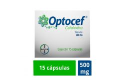 Optocef 500 mg Caja Con 15 Cápsulas RX2