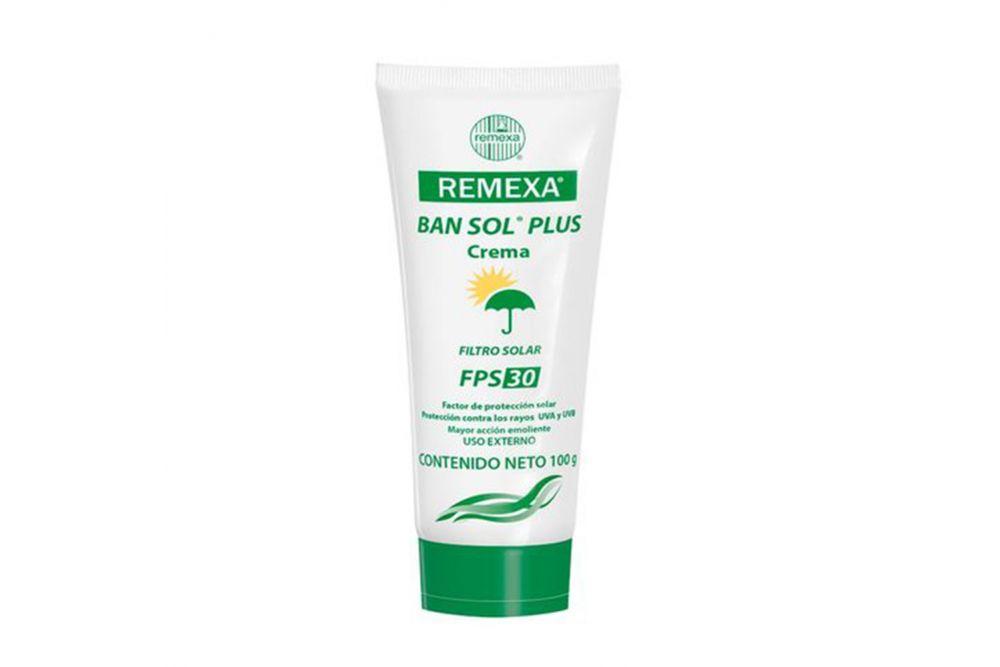 Filtro Solar Ban-Sol Plus Fps 30 Tubo Con 100 g
