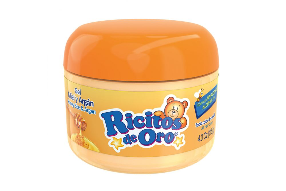 Gel Ricitos De Oro Miel Y Argán Tarro Con 115 g