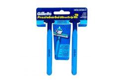 Gillette Prestobarba UltraGrip con 2 Máquinas Desechables