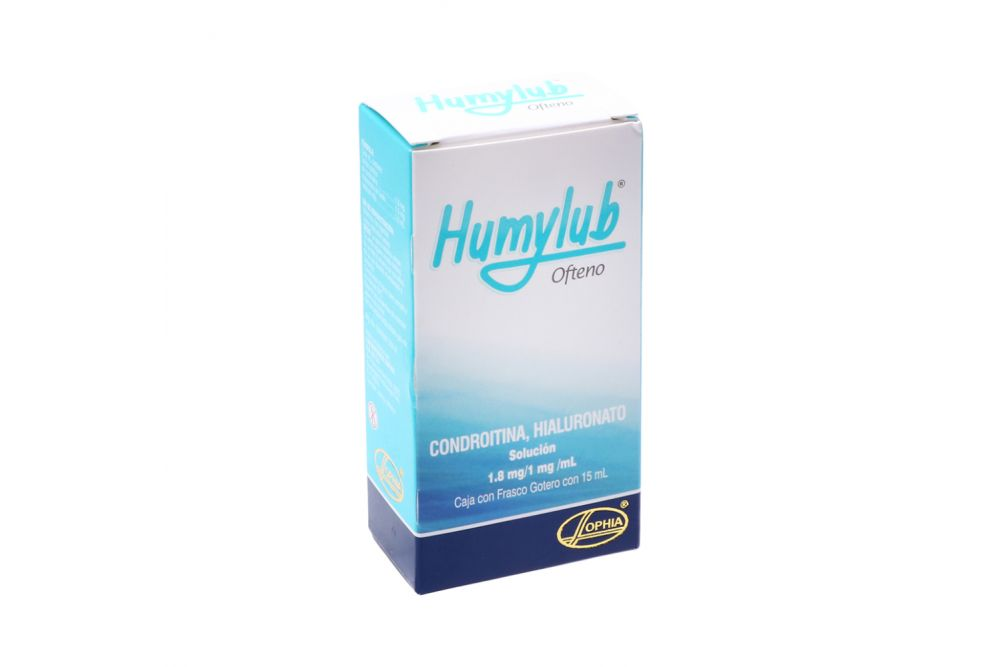 Humylub Ofteno Caja Con Frasco Gotero Con 15 mL