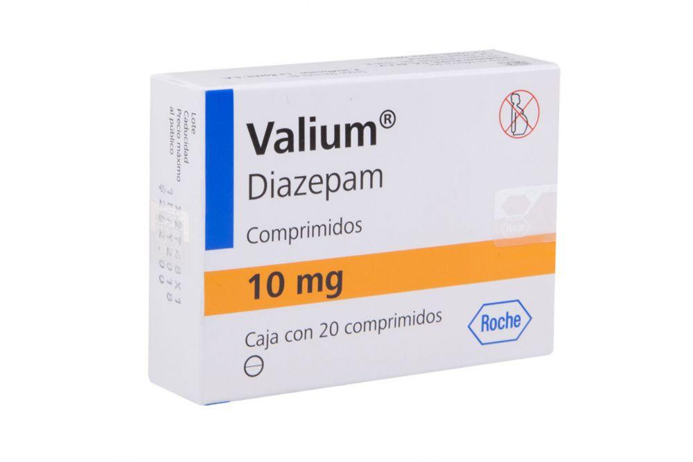 VALIUM 10 MG CPR 20 0828 - RX1