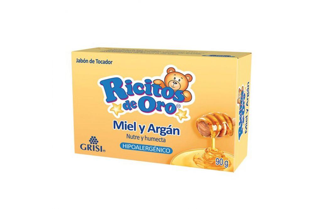 Jabón Ricitos De Oro con Miel Caja Con Barra Con 90 g