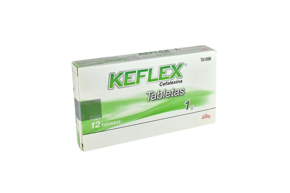 Keflex 1g Caja Con 12 Tabletas RX2