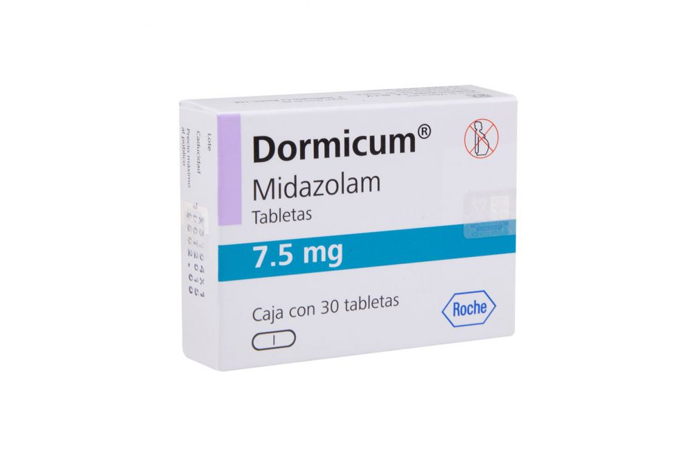 DORMICUM 7.5 MG CPR 30 - RX1