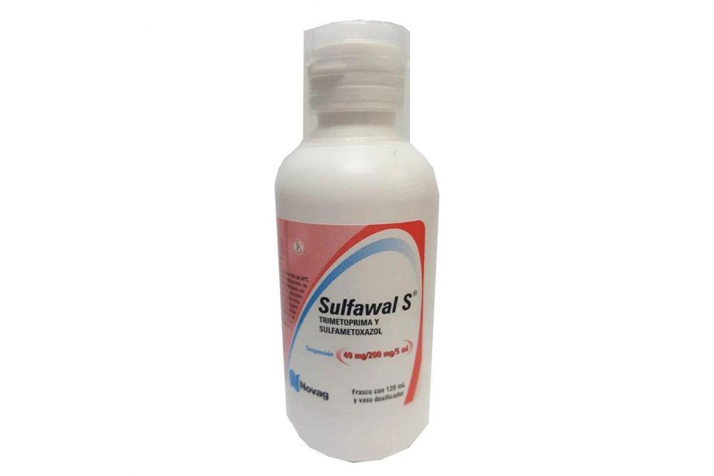 Trimetoprima Con Sulfametoxazol Frasco Con 120mL-RX2