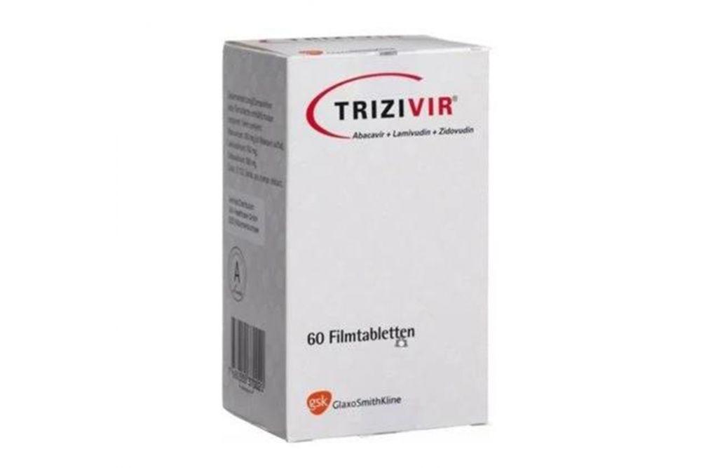 Trizivir 300 mg/ 150 mg/ 300 mg Caja Con Frasco Con 60 Tabletas
