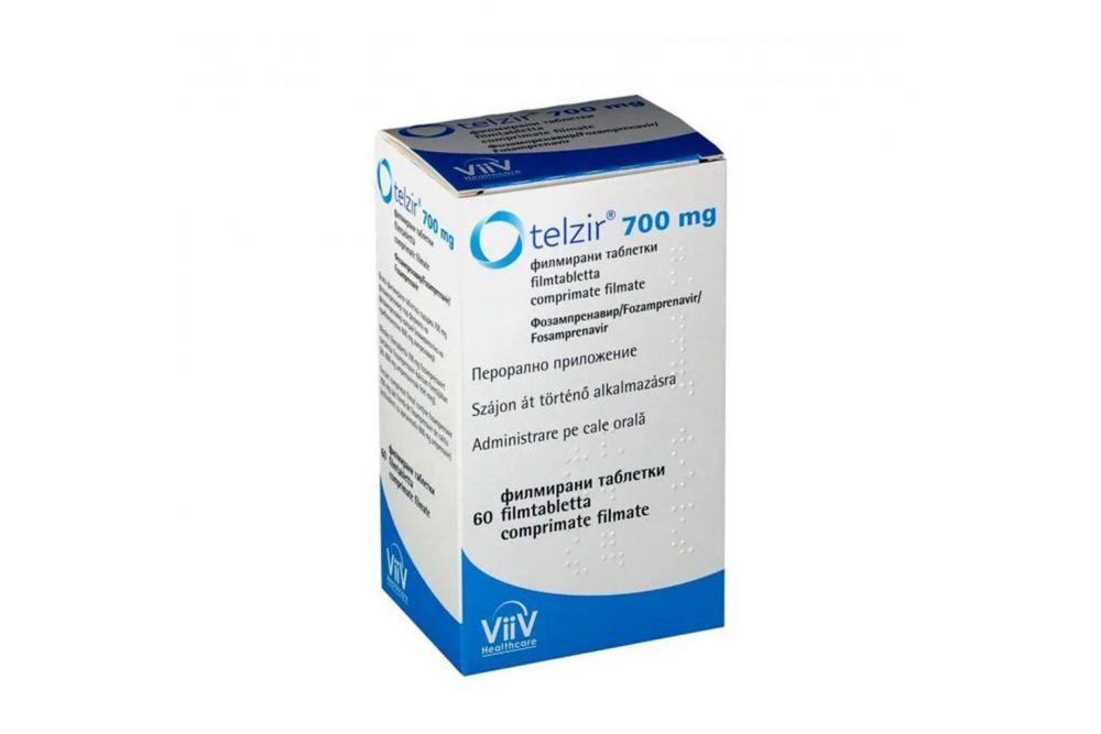 Telzer 700 mg Caja Con 60 Comprimidos