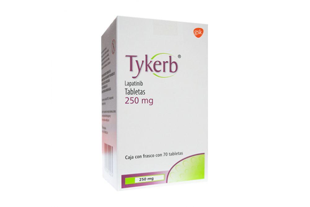 Tykerb 250 mg Caja Con 70 Tabletas