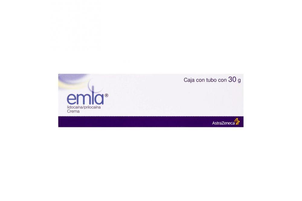 Emla Crema 25 mg/ 25 mg Caja Con Tubo Con 30 g