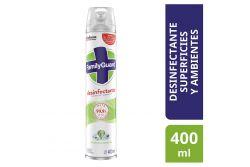 Desinfectante En Aerosol Family Guard Frescura Campestre Frasco Con 400 mL