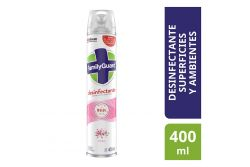 Desinfectante En Aerosol Family Guard Floral Frasco Con 400 mL