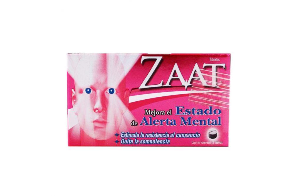 Zaat 200 mg Caja Con Frasco Con 12 Tabletas