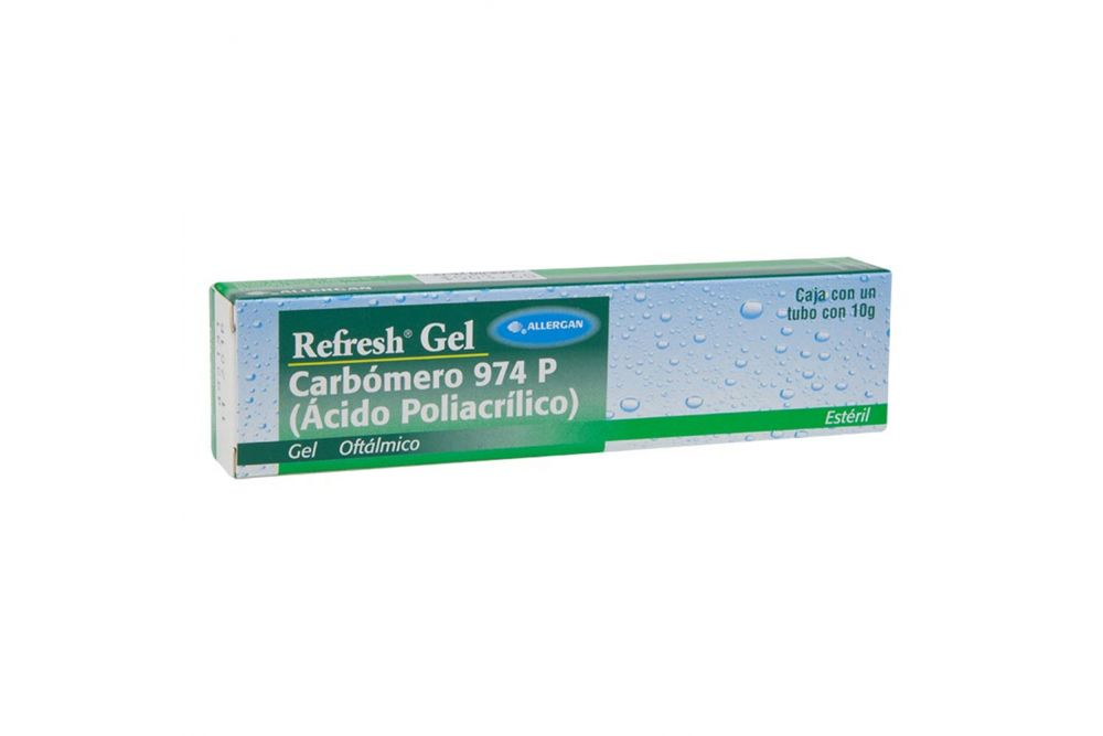 Refresh Gel Caja Con Tubo Con 10g