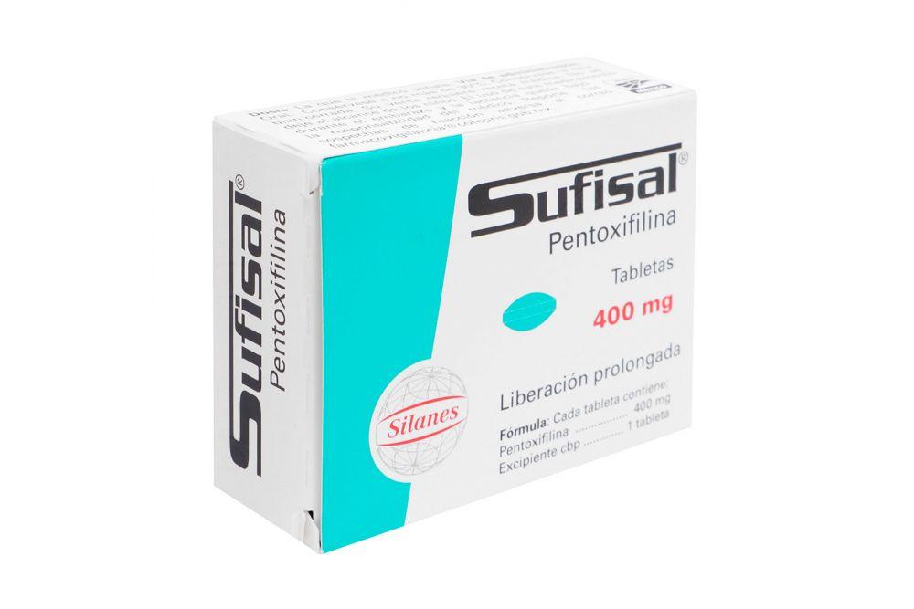 Sufisal 400 mg Caja Con 30 Grageas