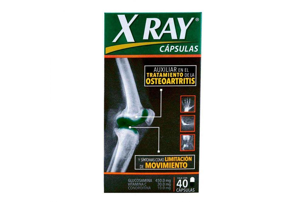 X Ray 450 mg / 30 mg / 10 mg Caja Con 40 Cápsulas