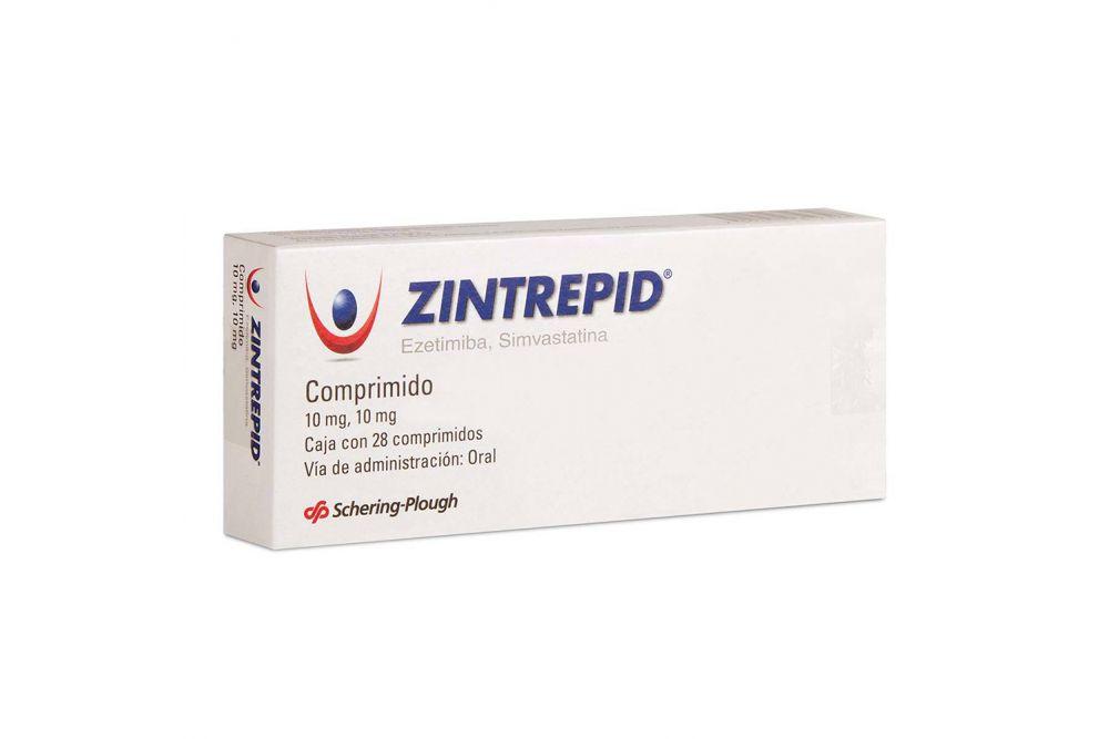 Zintrepid 10 / 10 mg Caja Con 28 Comprimidos