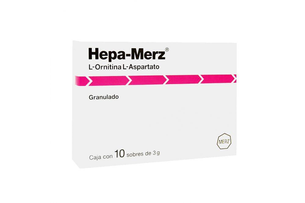 Hepa Merz 3 g Caja Con 10 Sobres Con Polvo Granulado