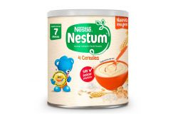 Nestum Cereal 4 Cereales Fase 2 Lata Con 270 g
