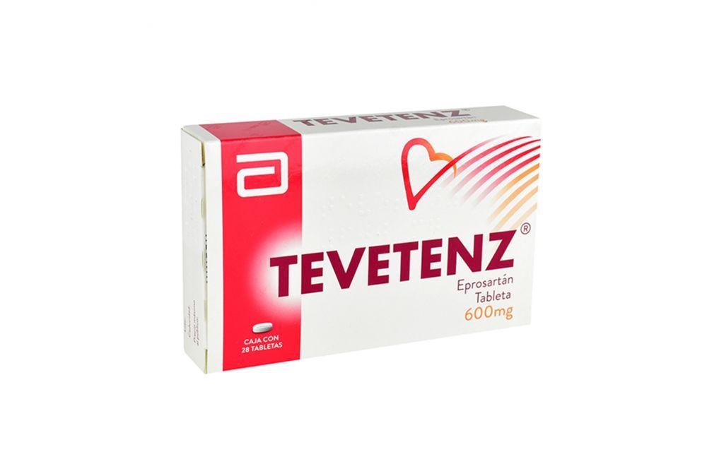 Tevetenz 600 mg Caja Con 28 Cápsulas