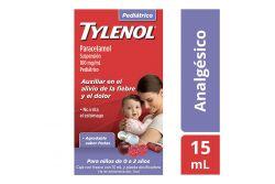 Tylenol Pediátrico 100mg/mL Caja Con Frasco Con 15 mL