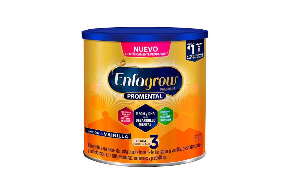 Enfagrow Premium 3 1-3 Años Lata Con 375 g Sabor A Vainilla