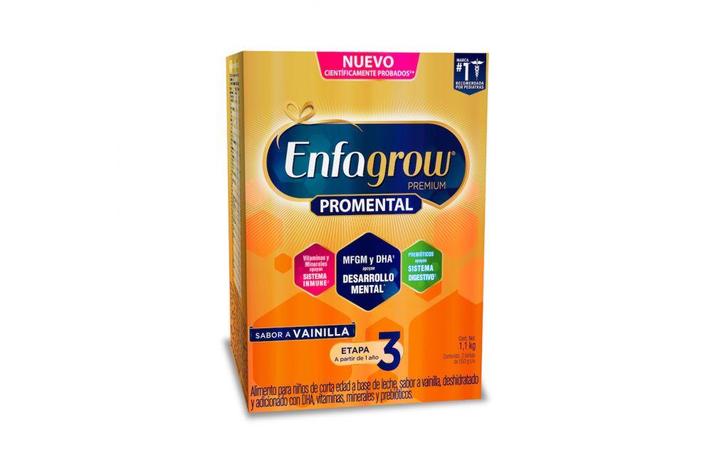 Enfagrow Premium 3 Sabor Vainilla Caja Con 1.1 kg