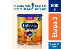 Enfagrow Promental Etapa 3 Sabor Vainilla Lata Con 800 g