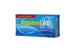 Aquasol AD 3300 UI/ 1000 UI Caja Con 10 Cápsulas