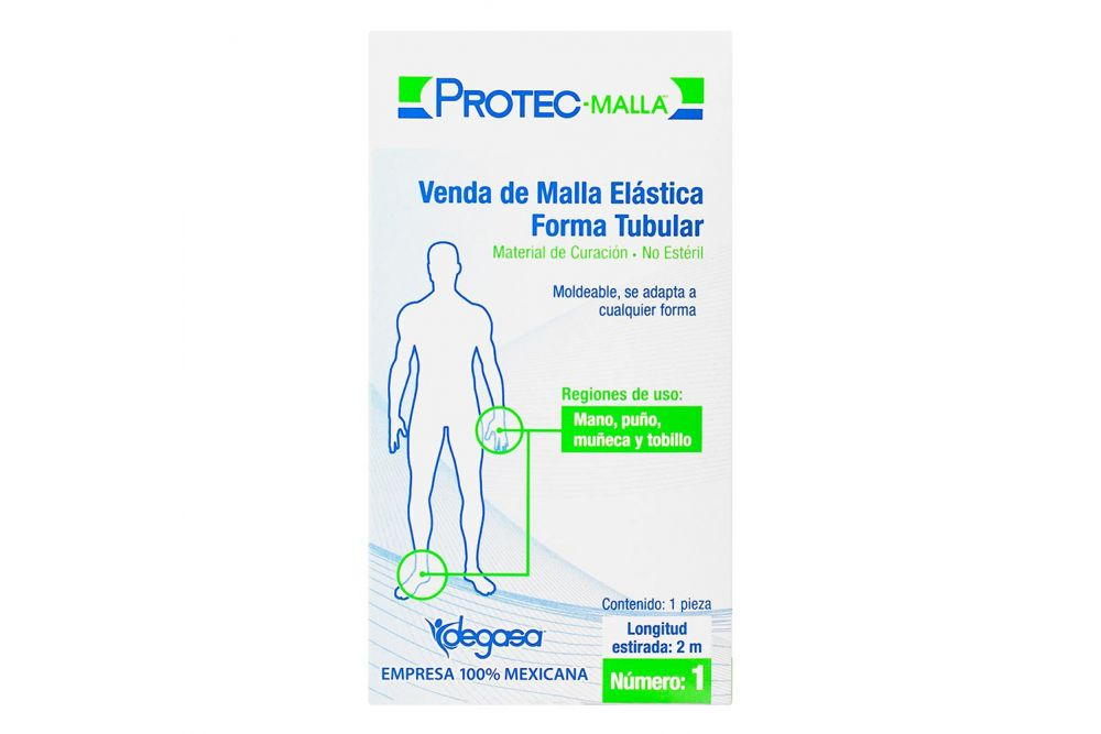 Venda De Malla Elástica Tubular Caja Con 1 Pieza