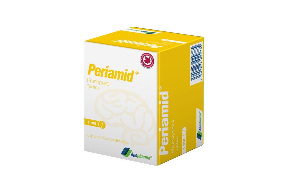 Periamid 1 mg Caja Con Frasco Con 30 Tabletas