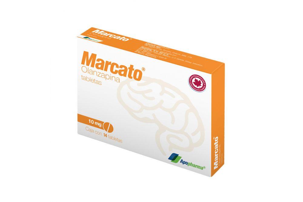 Marcato 10 mg Caja Con Blíster Con 14 Tabletas